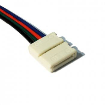 Conector para tiras RGB con cable