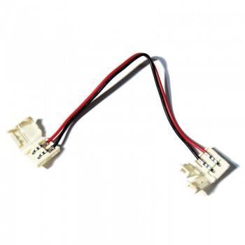Conector tira a tira monocolor con cable para pista de 8 mm SMD3528
