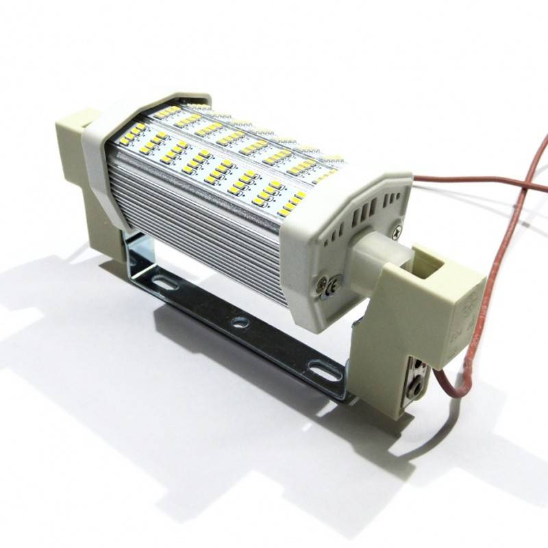 Casquillo R7S 118mm precableado para bombilla LED