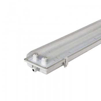 Pantalla estanca LED para T8 60cm 2x9w