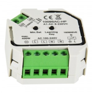 Regulador Monocolor Triac 400W 230V (1 canal)