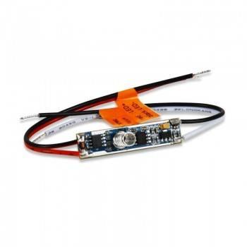 Mini Controlador PWM Monocolor 12-36V Control por pulsación