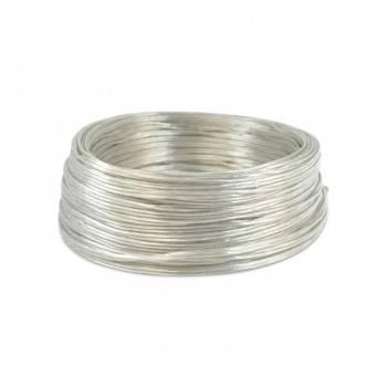 Cable Eléctrico Bobina de 15M Transparente 2x0.75