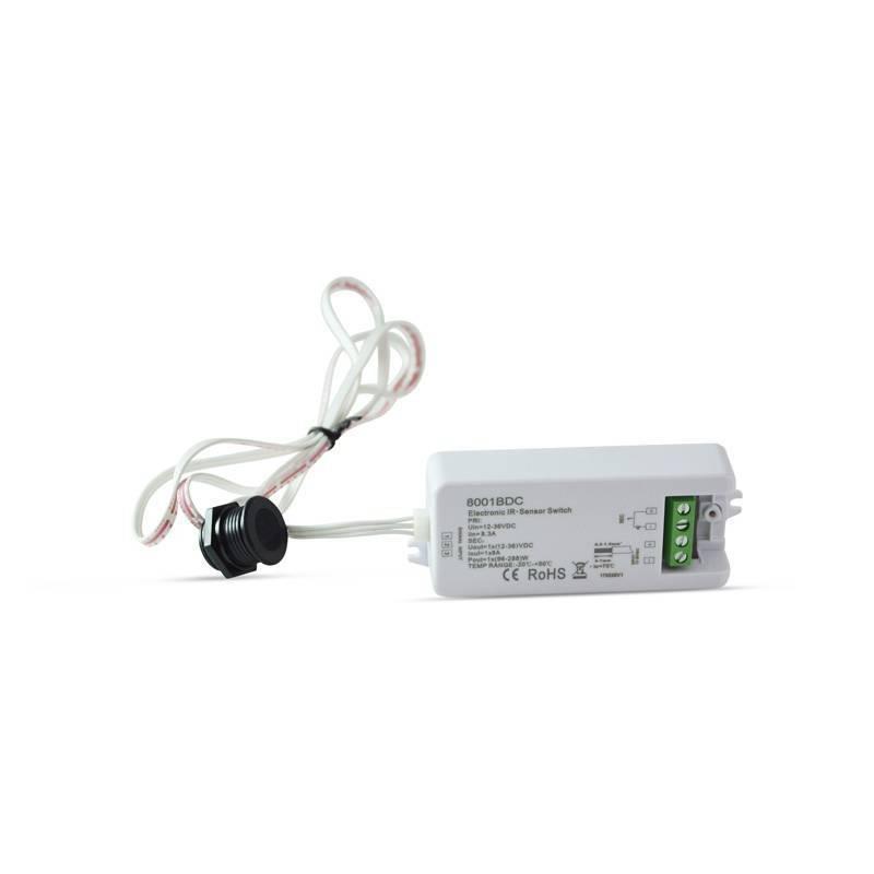 Interruptor IR con Sensor de movimiento 12-36V