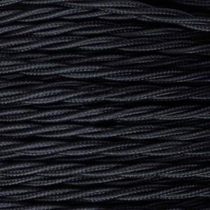 Cable trenzado negro 10mts