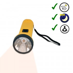 Linterna solar LED