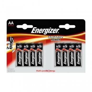 Pila Energizer Alkaline Power LR6 (AA) Blister de 8 Ud