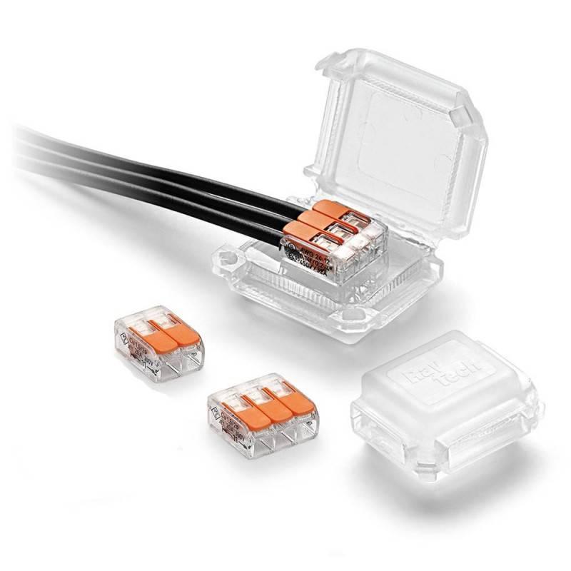 Caja de conexión HAPPYJOINT aislante con Gel incorporado y conectores incluidos IP68