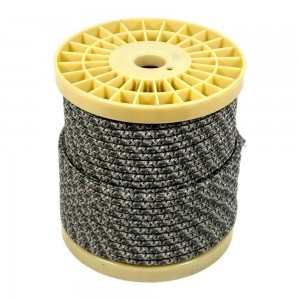 CABLE ELECTRICO ESTILO NORDICO 2X0,75 TEXTIL COLOR GRIS TWEED