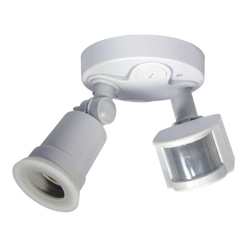 Portalámparas para bombilla LED E27 con sensor de movimiento