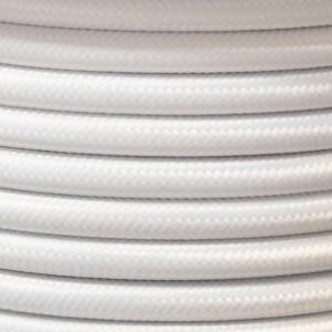 Bobina de cable eléctrico textil de varios colores estilo nórdico
