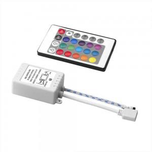 Controlador RGB 12V 6A con mando IR 24 teclas