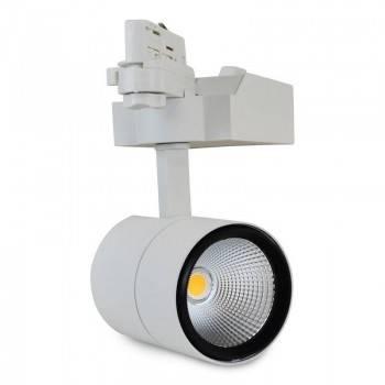 Focos LED carril trifásico