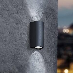 Aplique de pared LED up & down FUMAGALLI MARTA GU10 2x3,5W