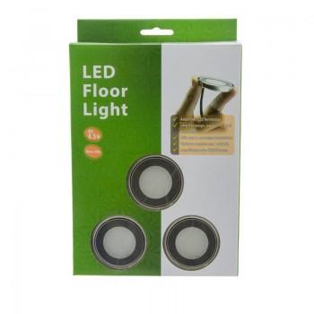 Focos LED empotrables en el suelo