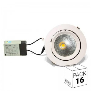 Pack ahorro 16 downlight...