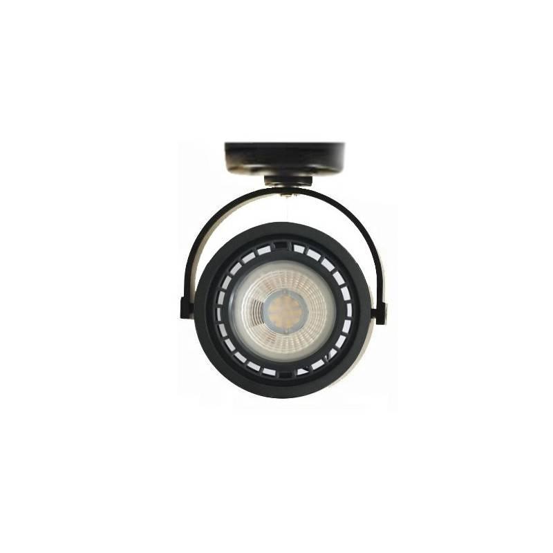 """Focos LED de superficie """"IRIS"""" para bombilla AR111 GU10"""