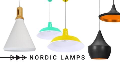 La estimulante iluminación con lámparas nórdicas