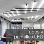 Comprar Tubos LED, luminarias lineales y Pantallas Estancas