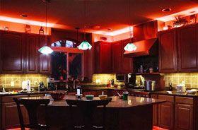 iluminacion led con tiras rgb en hosteleria
