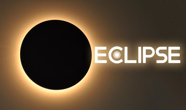 plafon de pared led eclipse