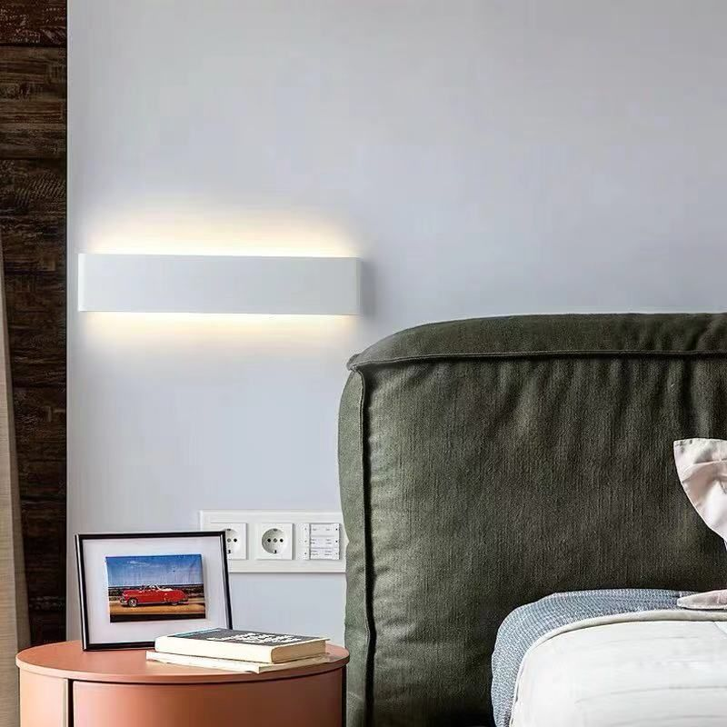 aplique de pared led silea nordico