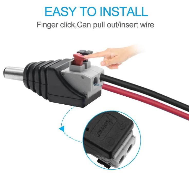 conexión de tiras LED