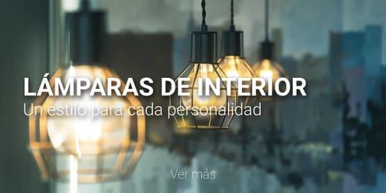 lámparas interior