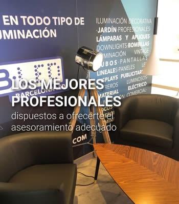 profesionales barcelona LED