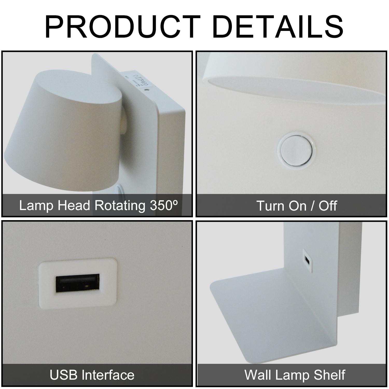 apliques de pared interior