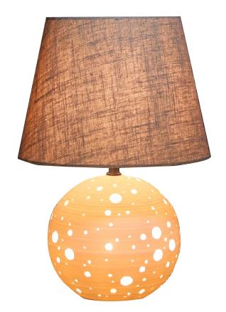 lámpara de porcelana