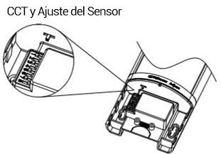 Luminarias lineales con sensor