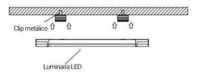 luminaria lineal instrucciones