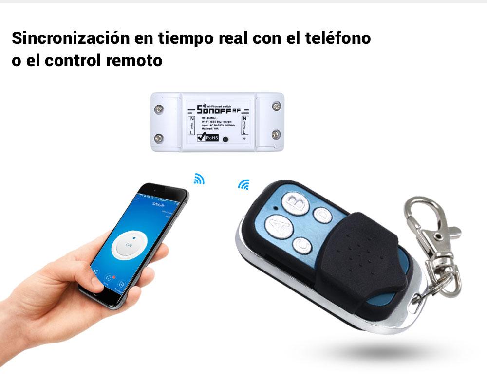 SONOFF control remoto