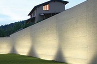 bañador lineal de pared decoración e iluminación