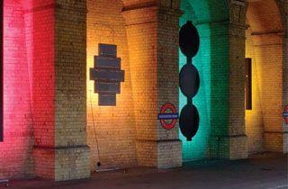 bañador led rgb iluminación para decoración
