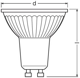 Bombilla LED Osram dimable para regular la intensidad en cada momento
