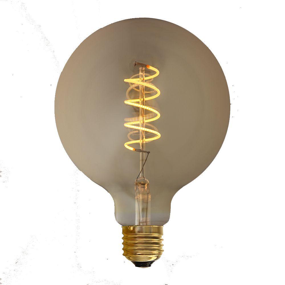 Acheter Ampoule Filament Spirale Led Gold Vintage G125 E27 Dimmable
