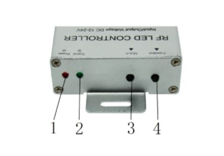 Botones controlador