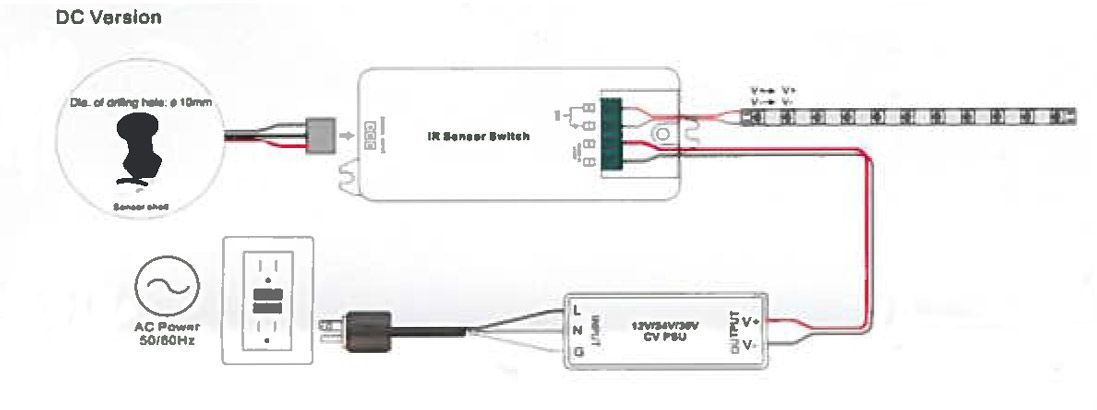 Interruptor con sensor de movimiento diagrama cableado