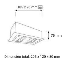 Dimensiones cardan