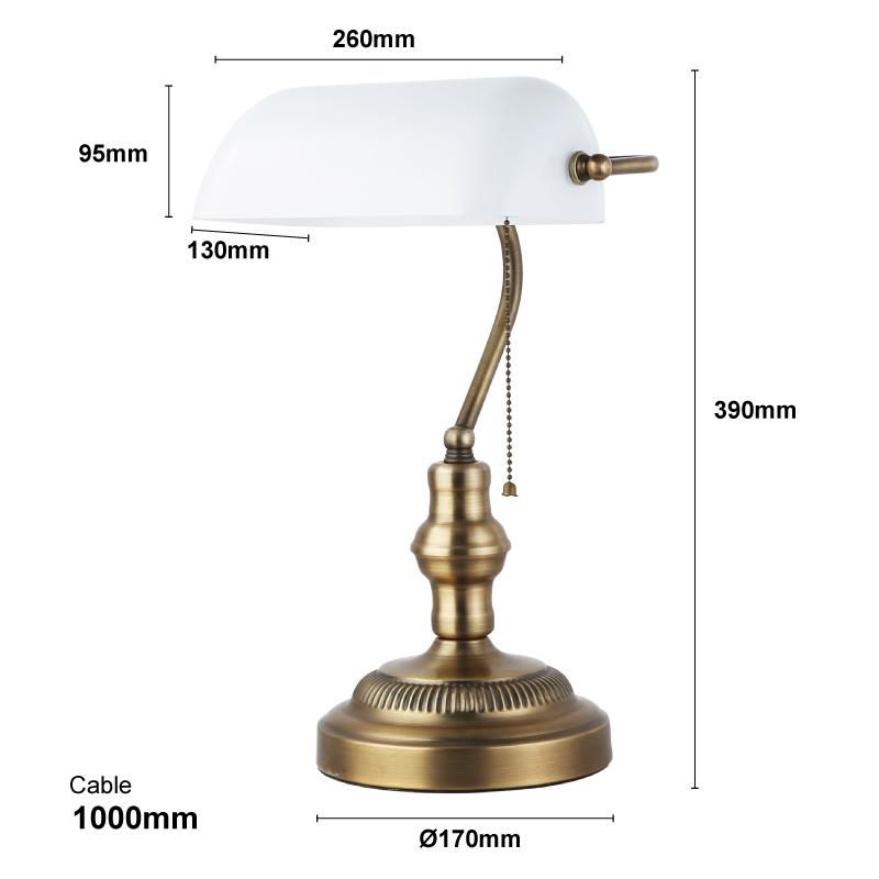 lámparas de escritorio banquero