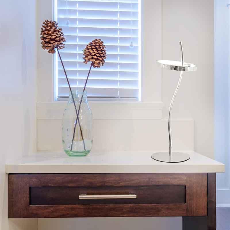 luces led lámpara de mesa