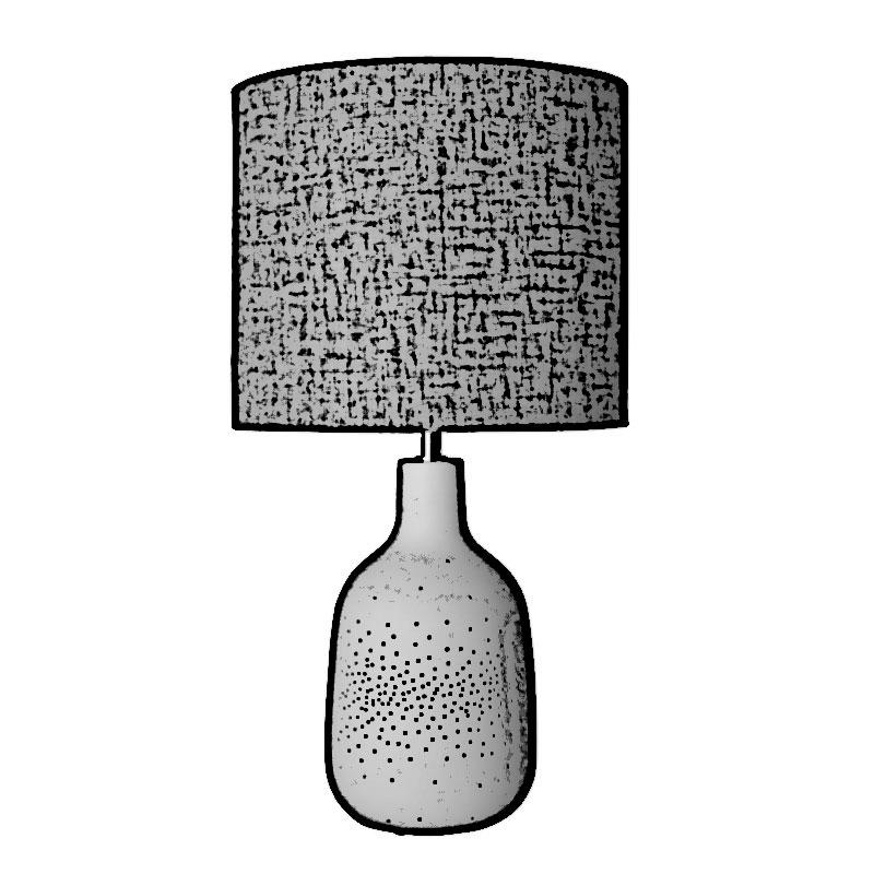 lámparas de mesa medidas