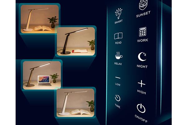 lámparas de mesa con sensor