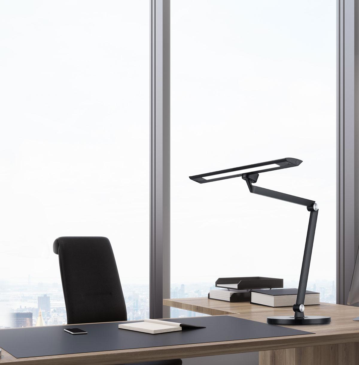 aplicación lámpara de mesa