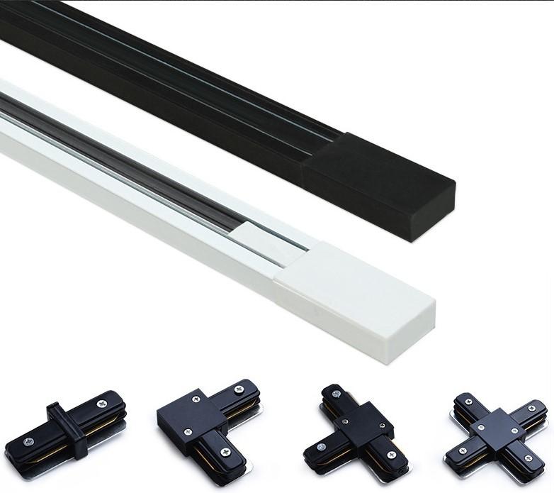 carril monofásico para focos LED