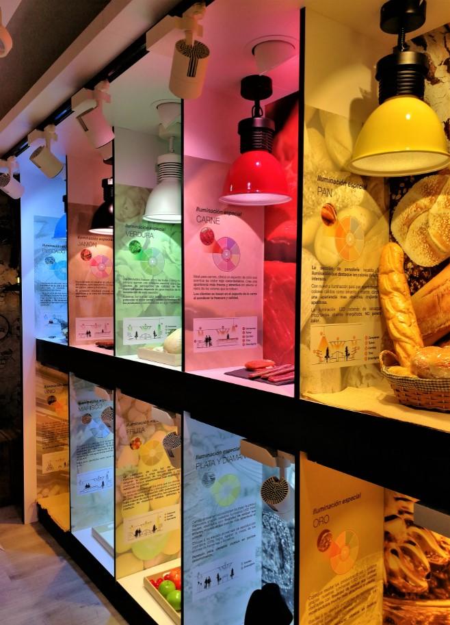 luces panadería