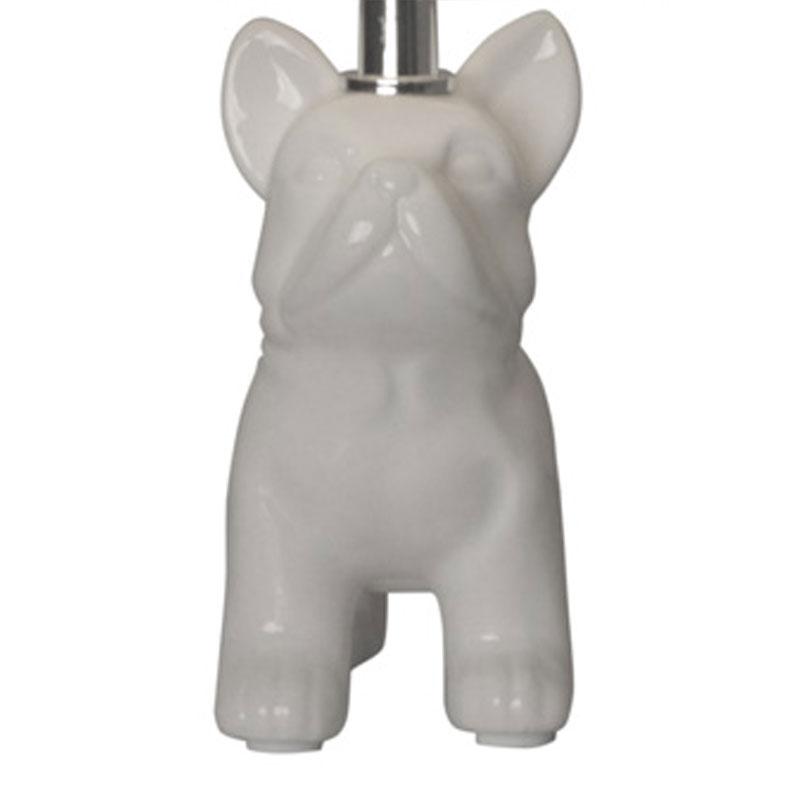 lámpara de mesa perro