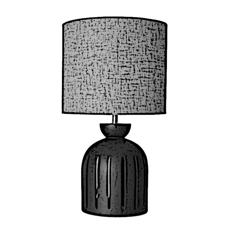 lámpara de mesa dimensiones